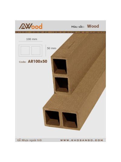 AWood AR100x50- Wood