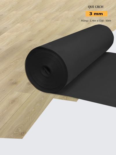 Foam Cao Su đen 3 mm