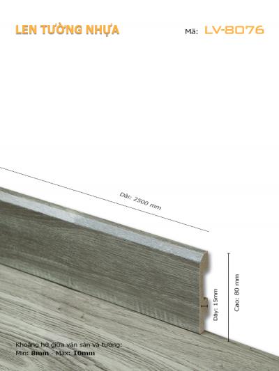 Len Tường nhựa LV-8076