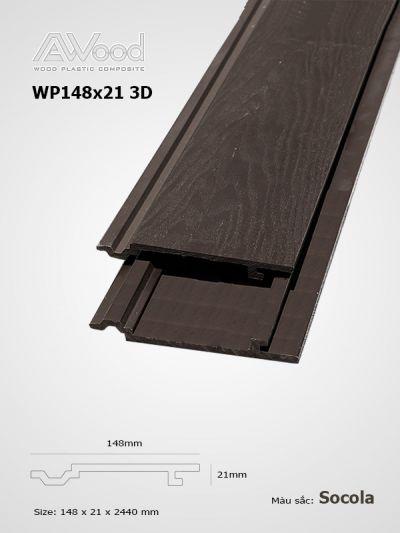 AWood WP148x21-3D Socola