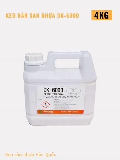 Keo dán sàn nhựa DK6000 4kg